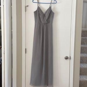 David's Bridal Bridesmaid Dress Size 2